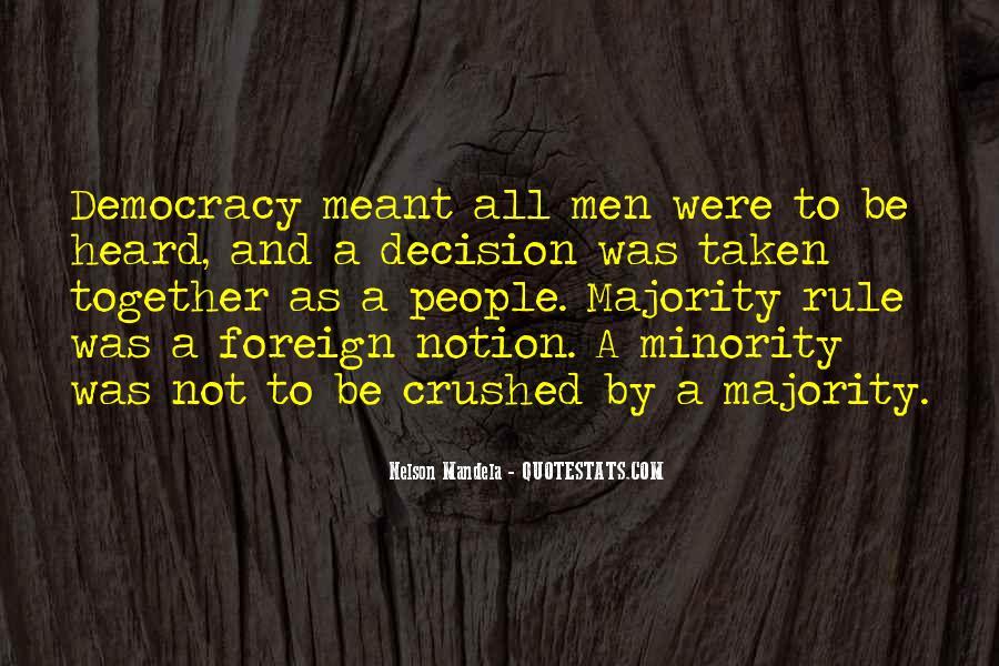 Majority Decision Quotes #1141476