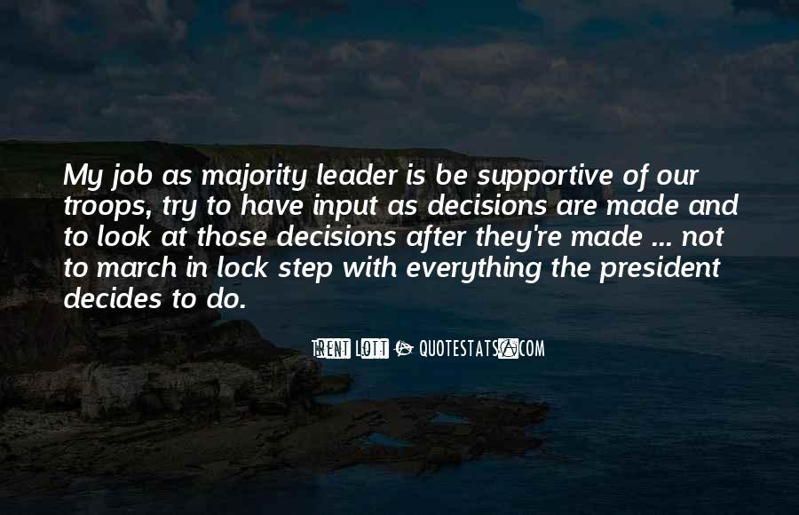 Majority Decision Quotes #1604427