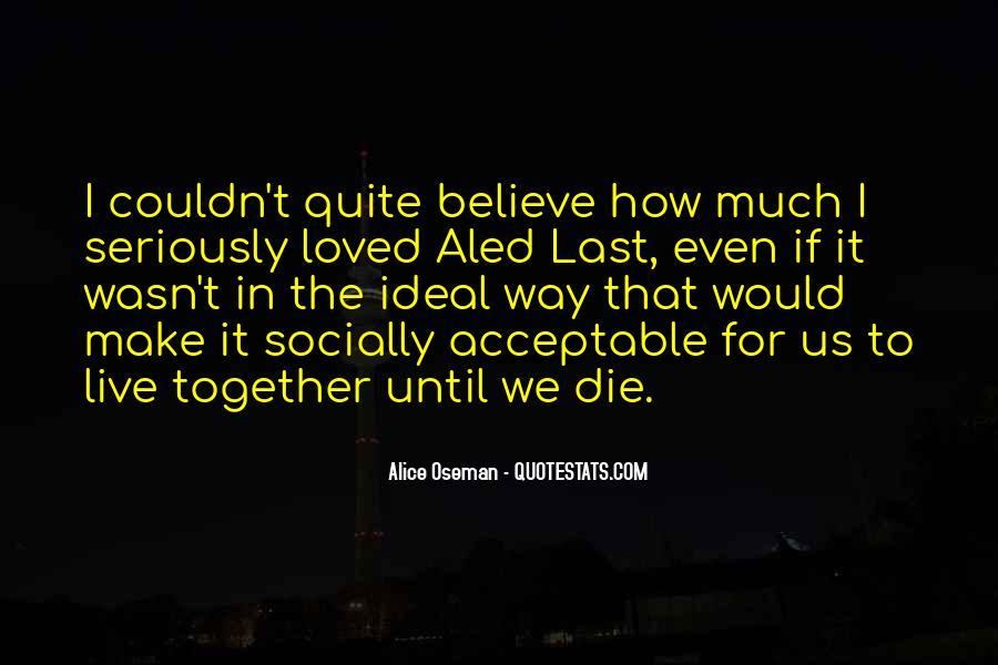 Make Believe Love Quotes #197636