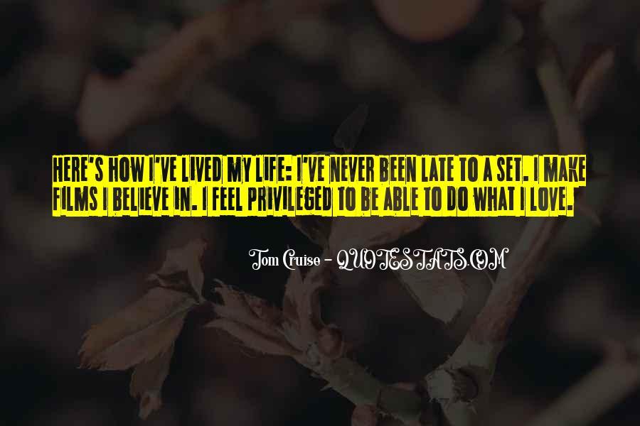 Make Believe Love Quotes #729438