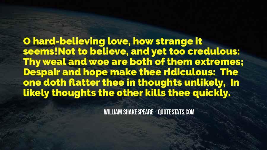 Make Believe Love Quotes #807528