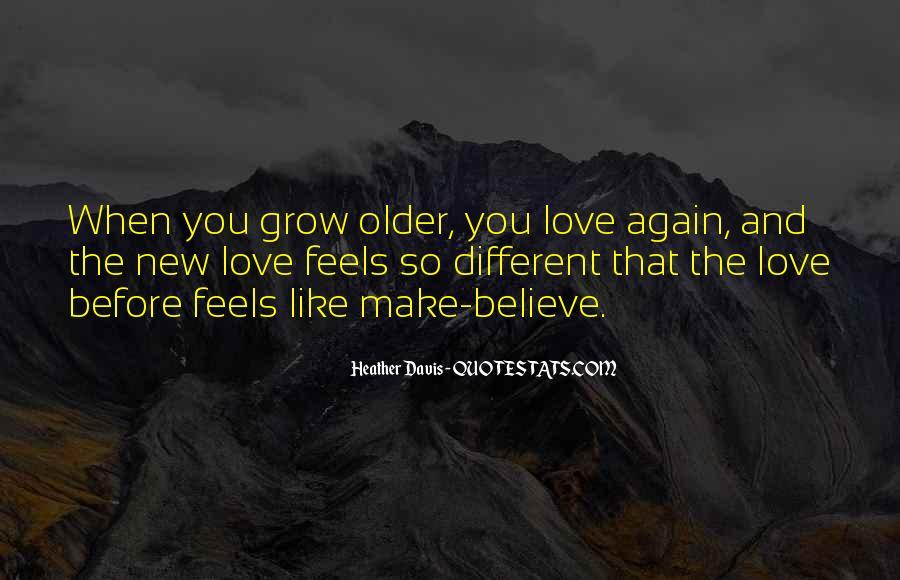 Make Believe Love Quotes #956566