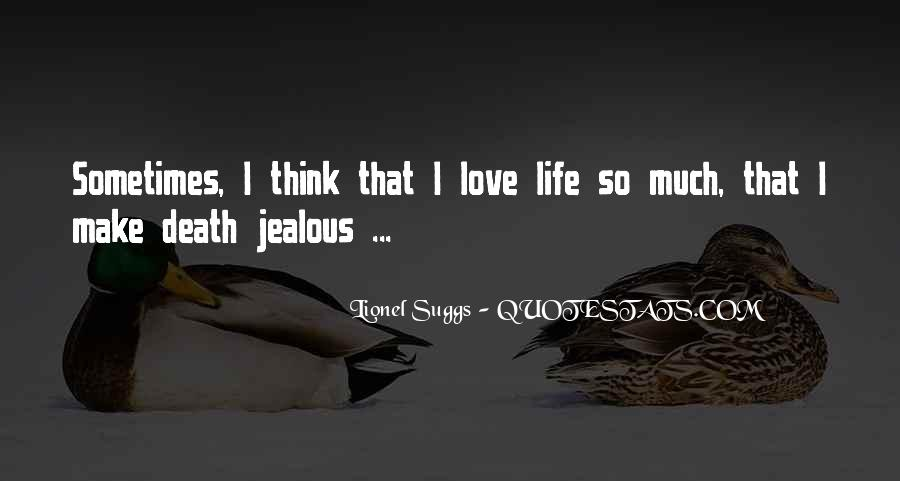 Make Her Jealous Quotes #486152