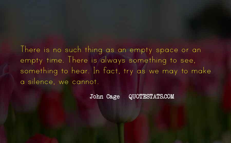 Make Space Quotes #311849