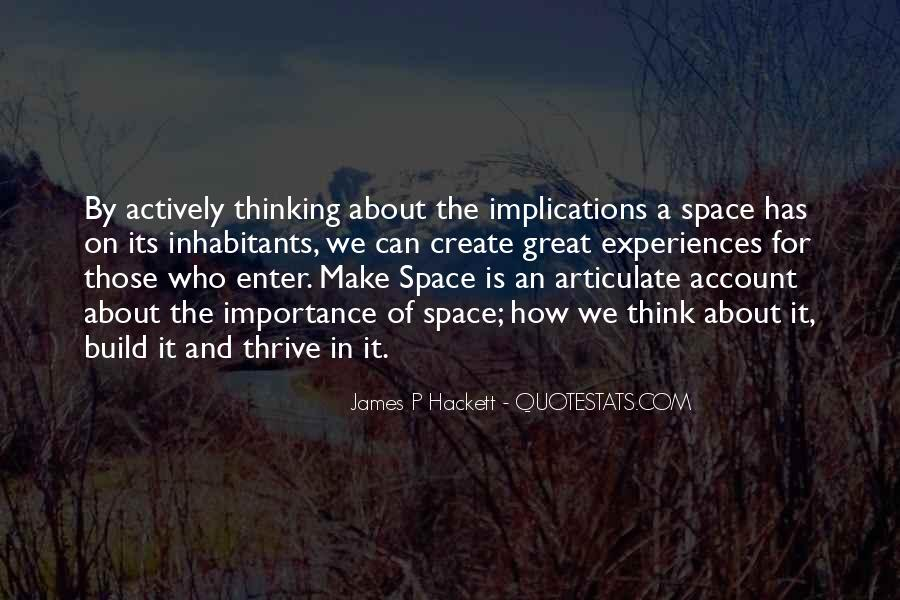 Make Space Quotes #312552