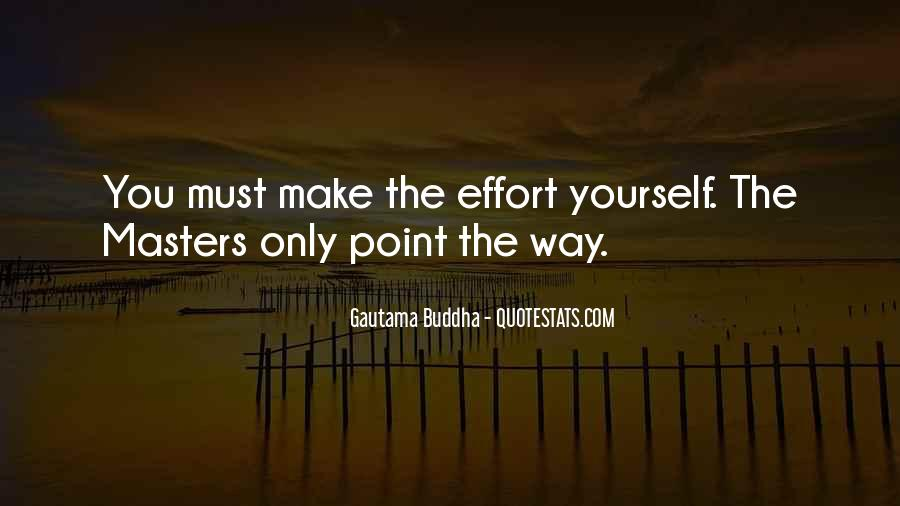 Make The Effort Quotes #118703
