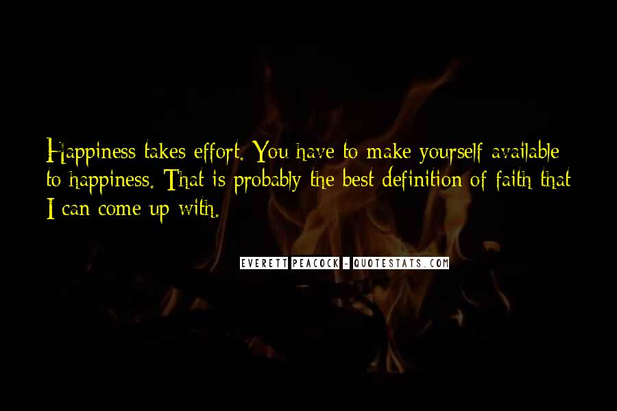 Make The Effort Quotes #138814