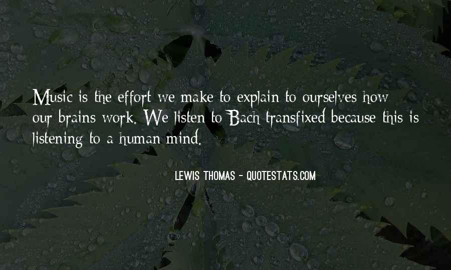 Make The Effort Quotes #147639