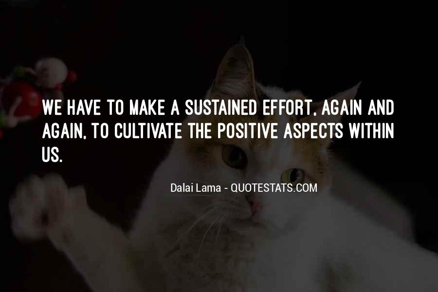 Make The Effort Quotes #246961