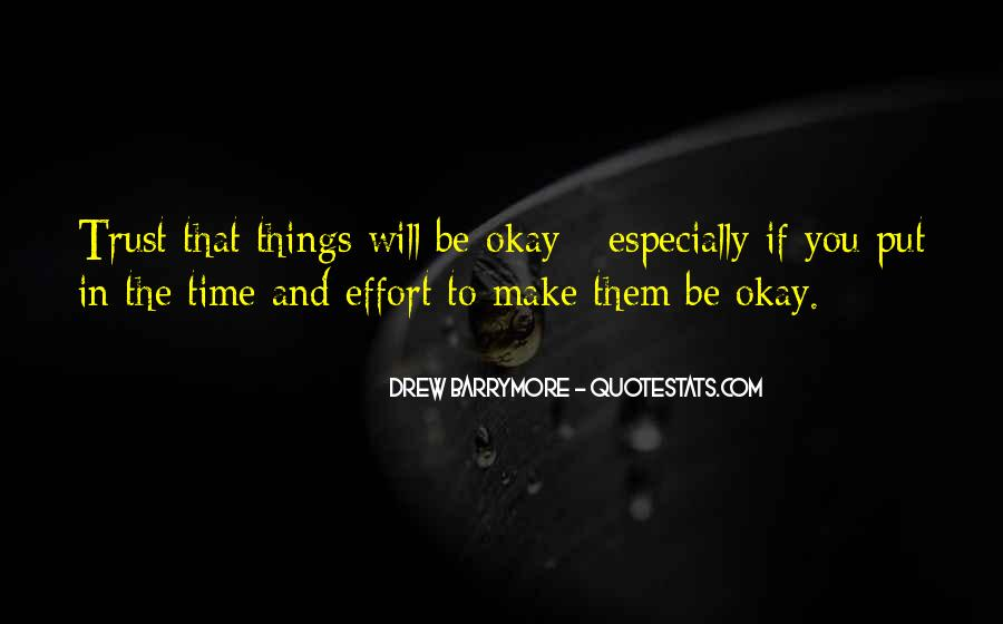 Make The Effort Quotes #257438