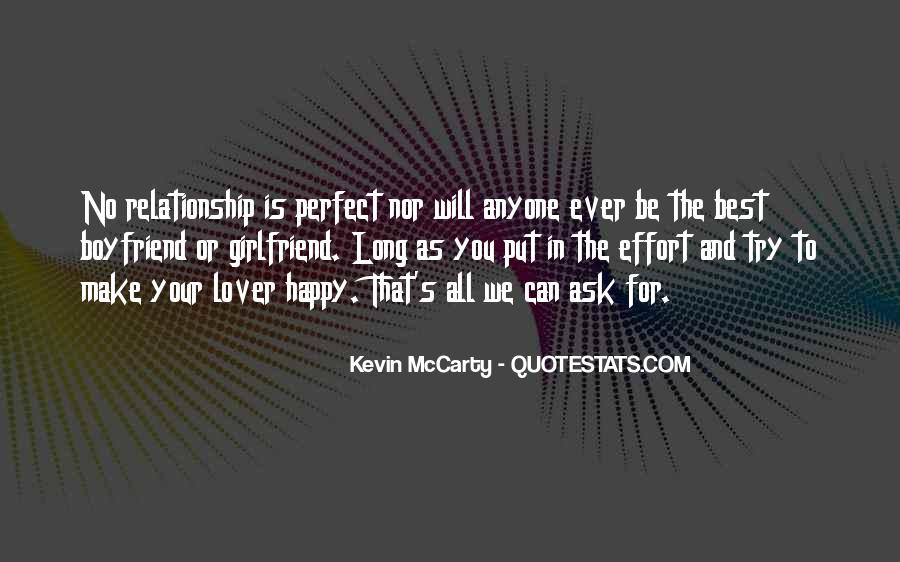 Make The Effort Quotes #44059