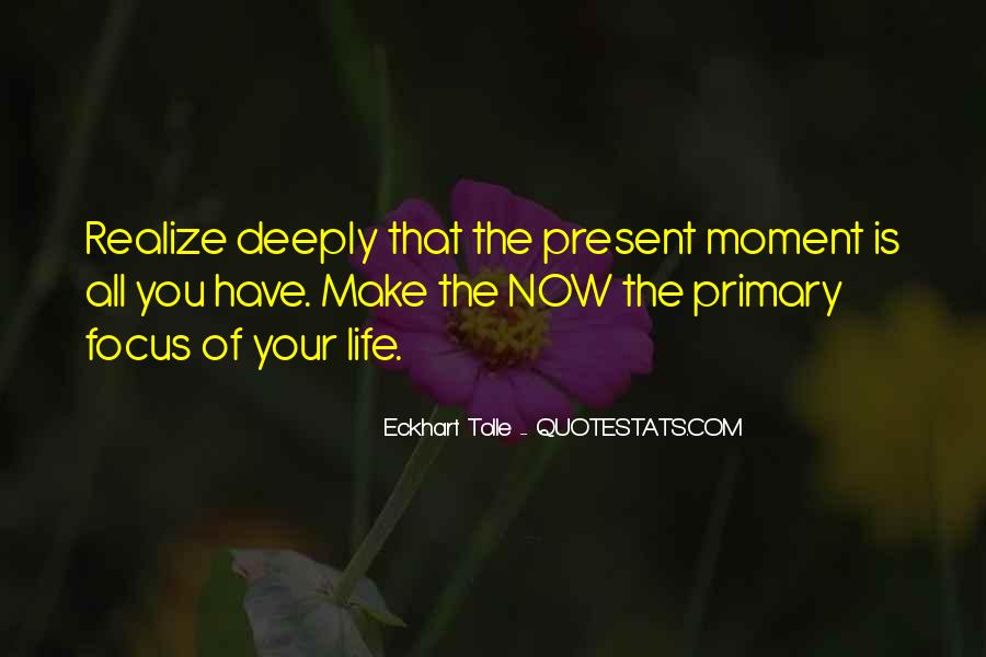 Make The Most Of The Moment Quotes #116058