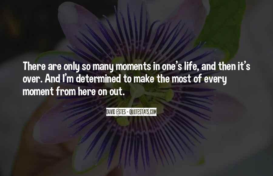 Make The Most Of The Moment Quotes #745431