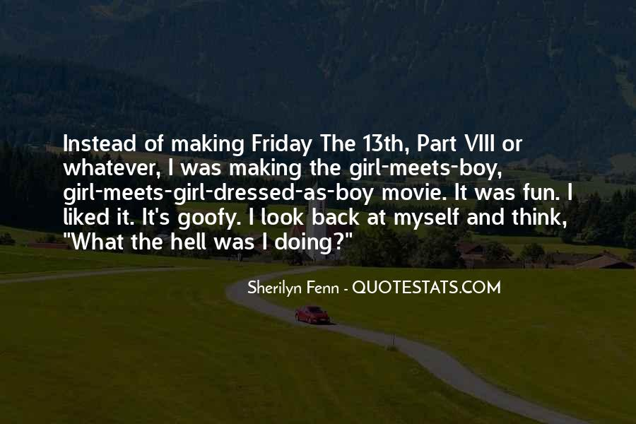 Making Fun Of Girl Quotes #68552