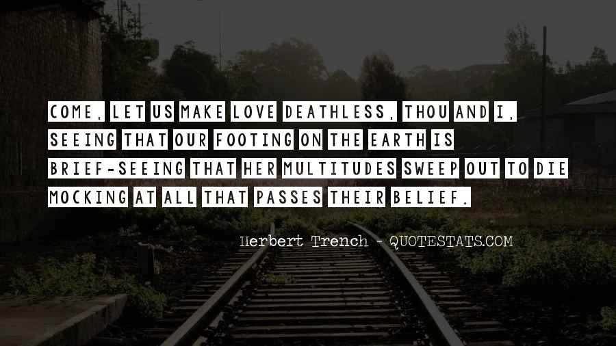 Making Love Out Of Nothing At All Quotes #33754