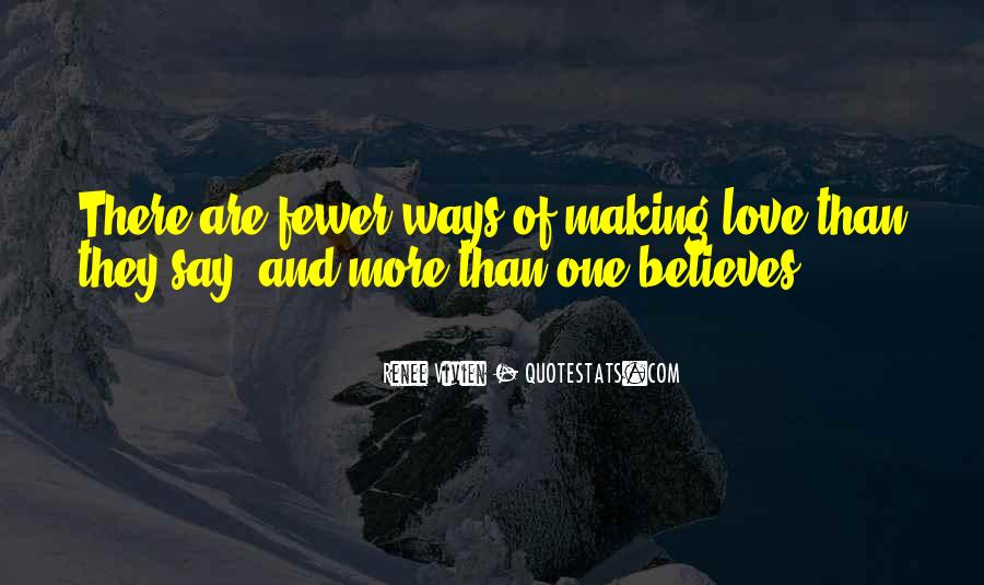 Making Love Out Of Nothing At All Quotes #6601