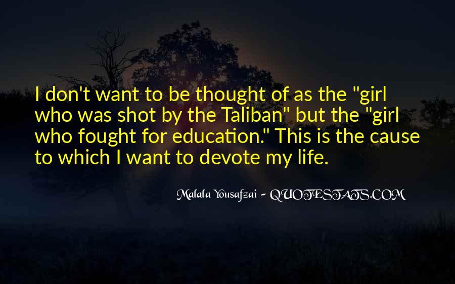 Malala Taliban Quotes #1067325