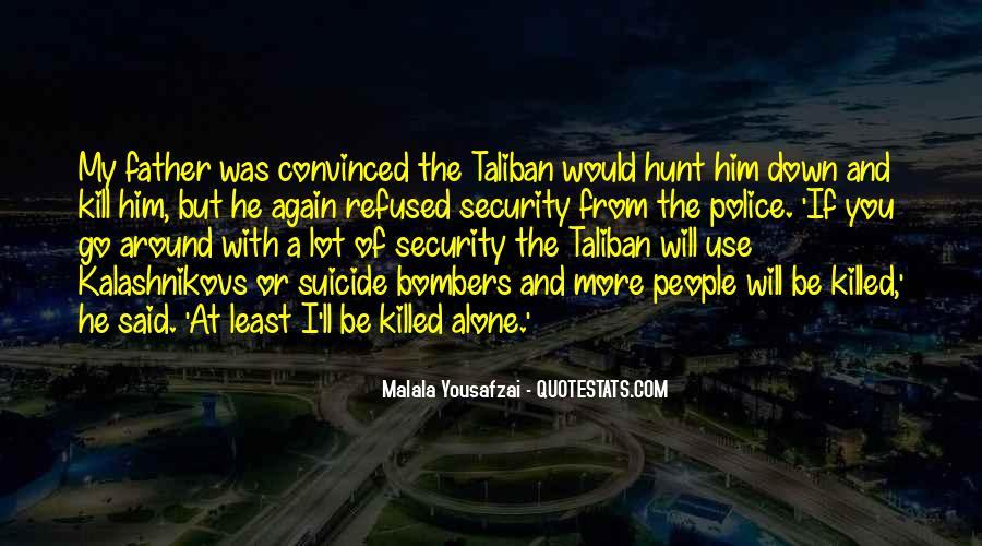 Malala Taliban Quotes #1193295
