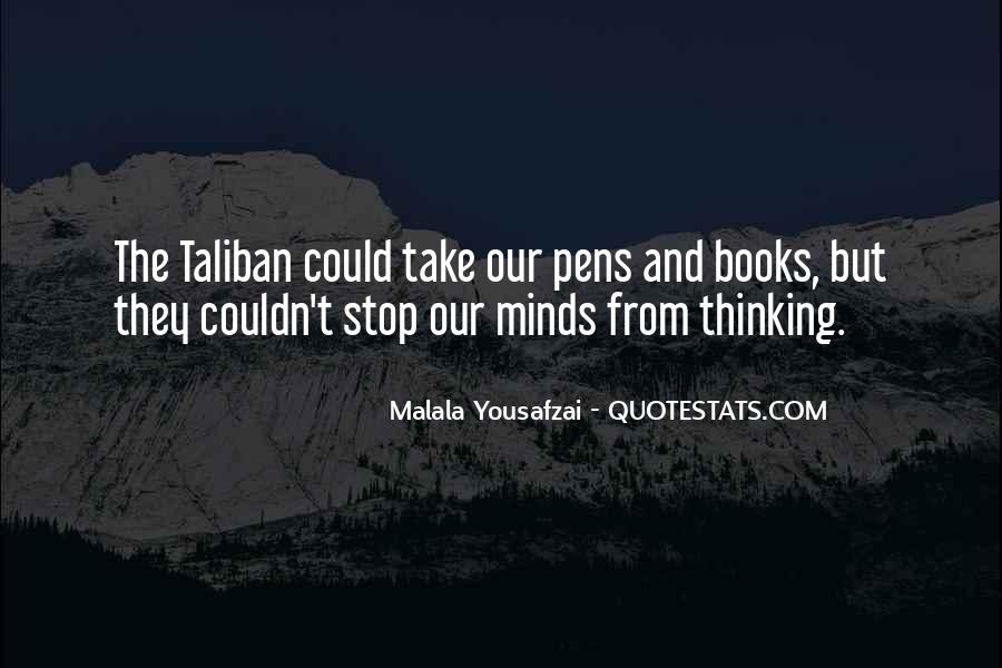 Malala Taliban Quotes #1312676