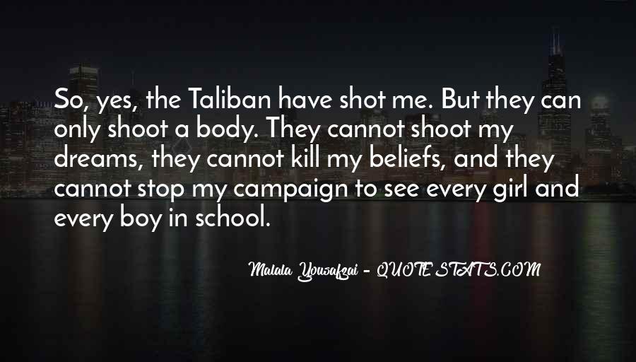 Malala Taliban Quotes #1429648