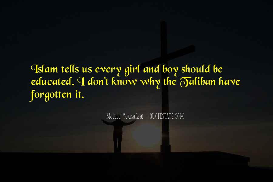 Malala Taliban Quotes #408353