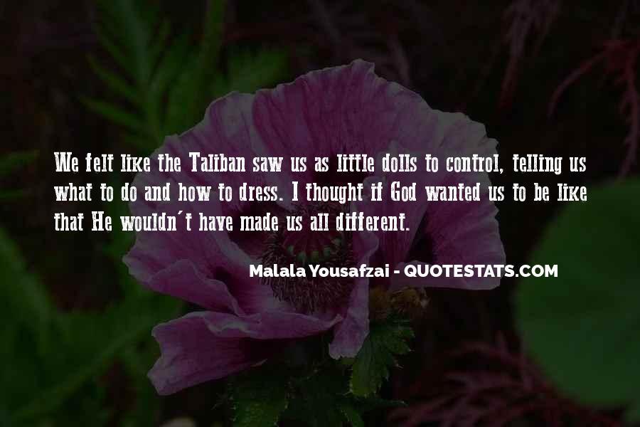 Malala Taliban Quotes #755496
