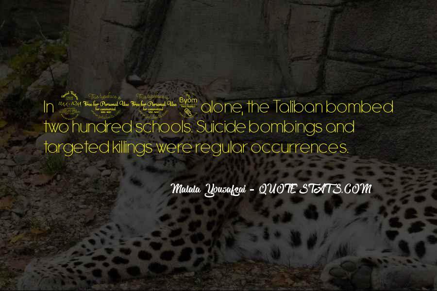 Malala Taliban Quotes #908235