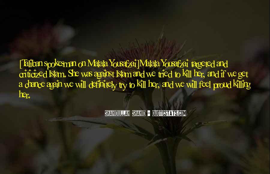 Malala Taliban Quotes #93809