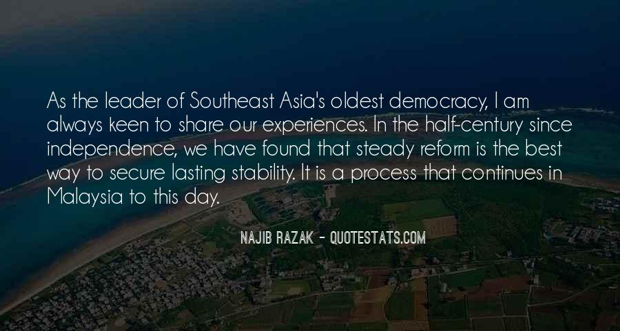 Malaysia Independence Quotes #1223176