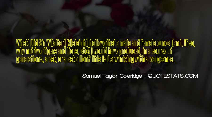 Male And Female Lion Quotes #204748