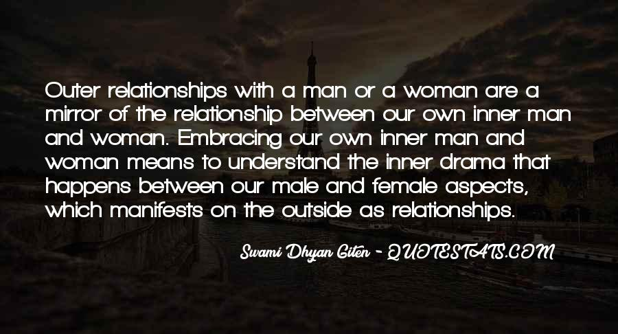 Quotes woman man and relationship A Collection
