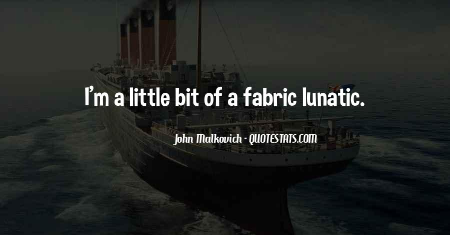 Malkovich Quotes #110967