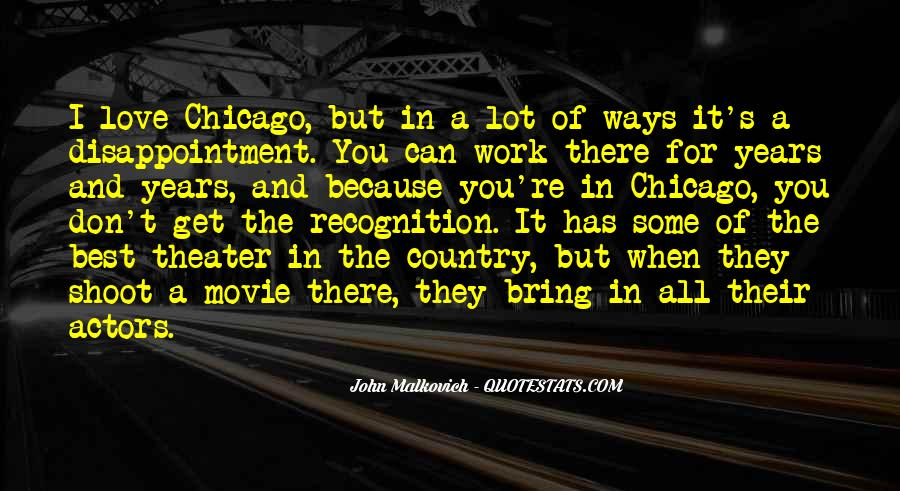 Malkovich Quotes #245322