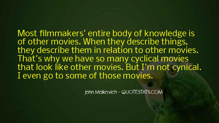 Malkovich Quotes #247248