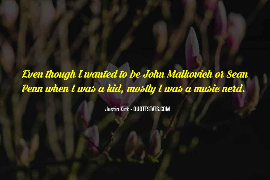 Malkovich Quotes #256350