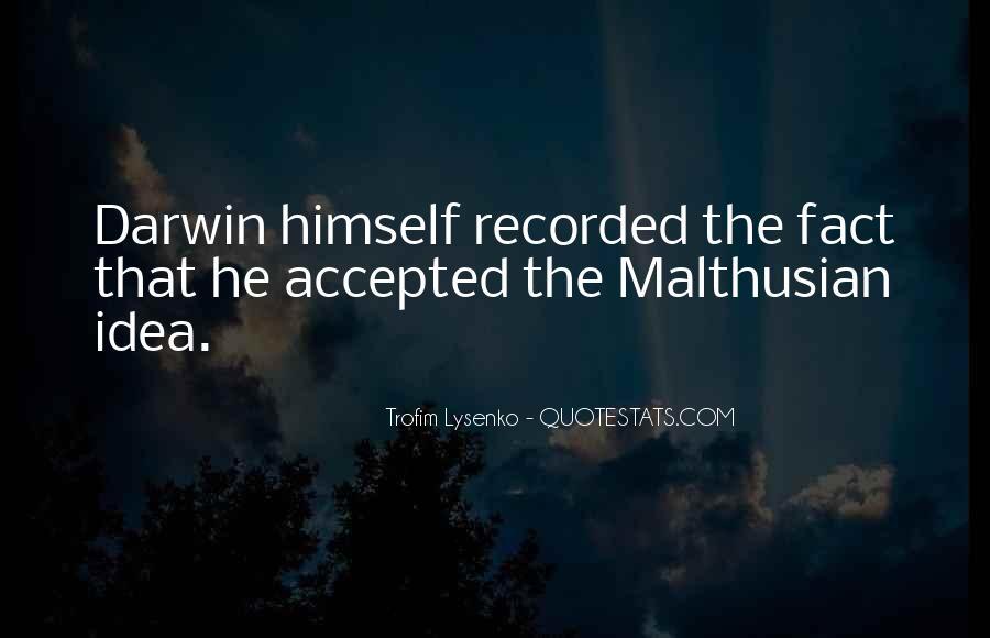 Malthusian Quotes #162847