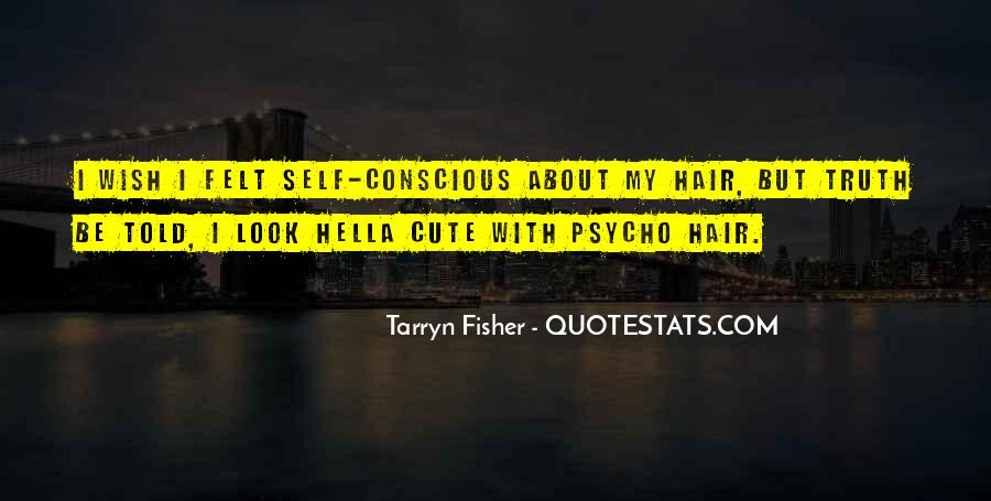 Quotes About Cute Hair #1279022