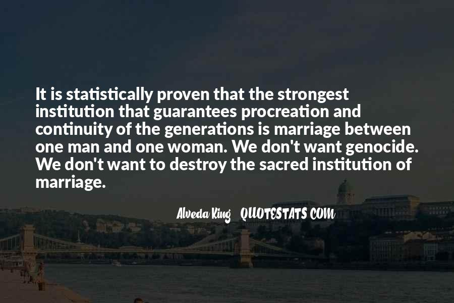 Man And Woman Marriage Quotes #168197