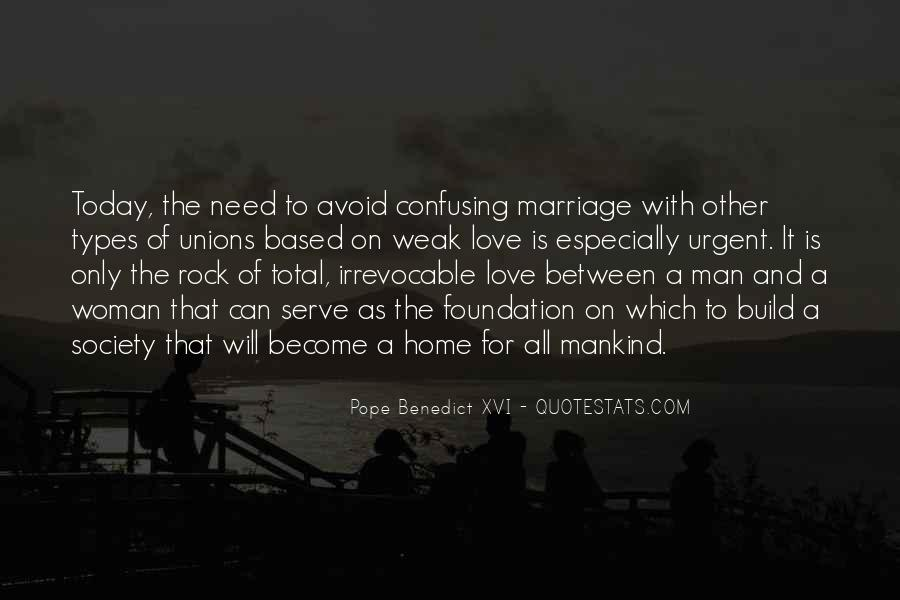 Man And Woman Marriage Quotes #171637