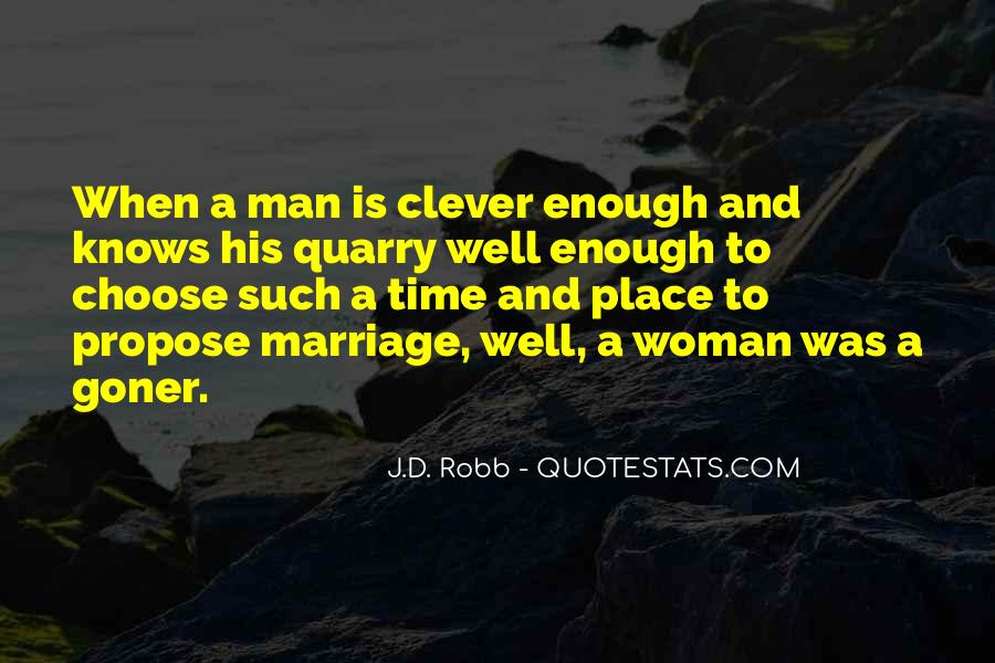 Man And Woman Marriage Quotes #258520