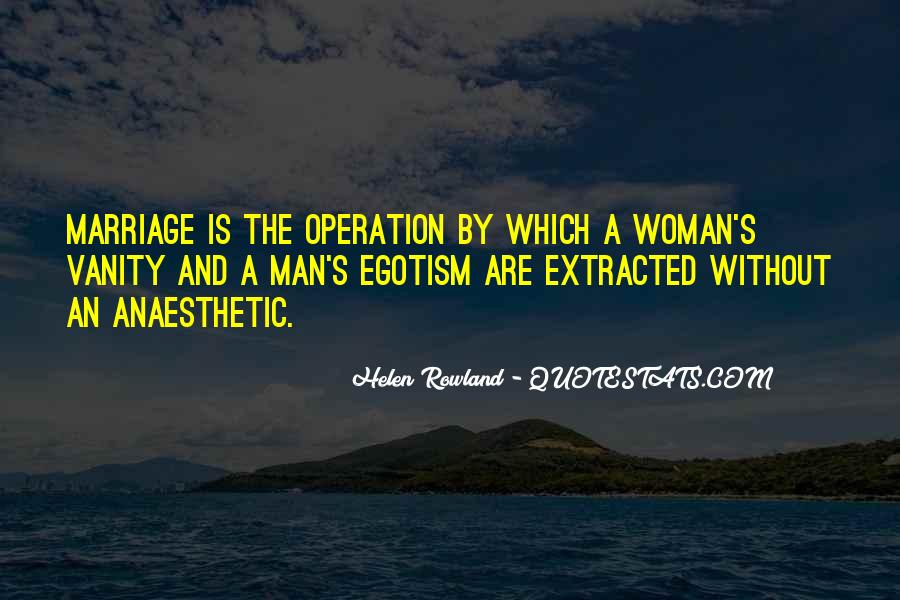 Man And Woman Marriage Quotes #361370
