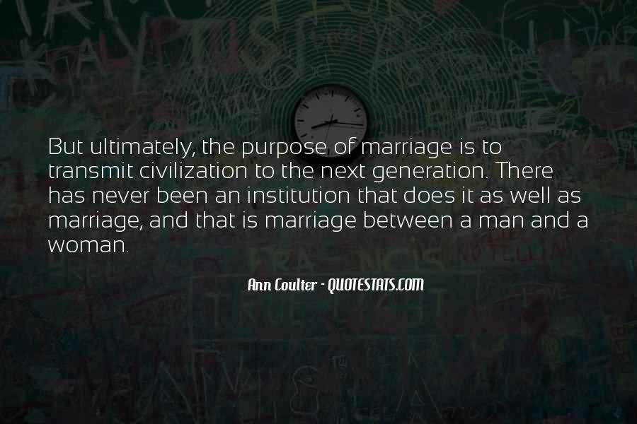 Man And Woman Marriage Quotes #380655
