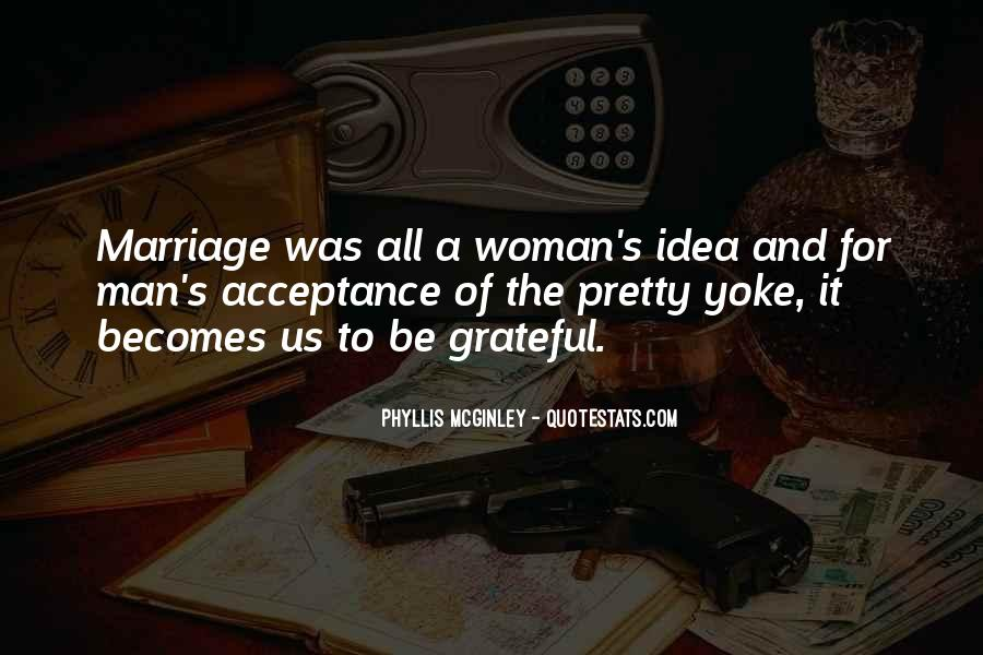 Man And Woman Marriage Quotes #42593