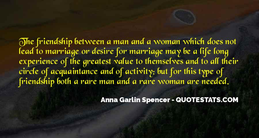 Man And Woman Marriage Quotes #445730