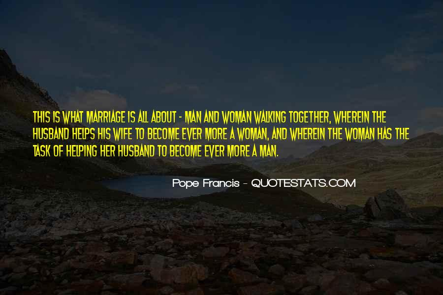 Man And Woman Marriage Quotes #45504
