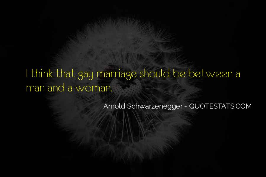 Man And Woman Marriage Quotes #586560
