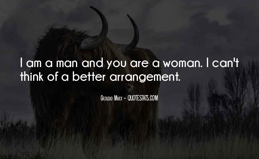 Man And Woman Marriage Quotes #627165