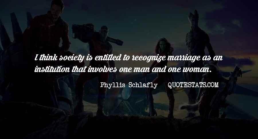 Man And Woman Marriage Quotes #712853