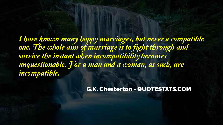 Man And Woman Marriage Quotes #739782
