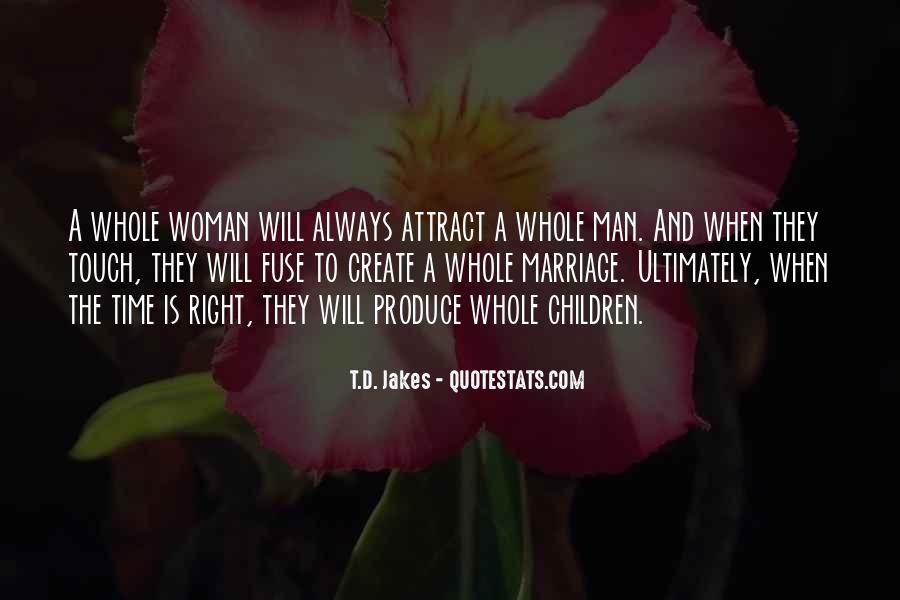 Man And Woman Marriage Quotes #75779